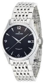 ハミルトン 時計 Hamilton Mens H38415131 Timeless Classic Black Dial Watch