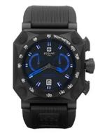 ゾディアック 時計 Zodiac Mens ZO8538 Analog Display Swiss Quartz Black Watch
