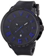 テンデス 時計 Tendence Gulliver Sport Unisex Quartz Watch with Blue Dial Analogue Display and Black