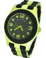 マーク ジェイコブス 時計 Womens Pelly Watch Color Lime Green and Black