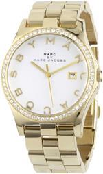 マーク ジェイコブス 時計 Marc by Marc Jacobs Womens MBM3045 Henry Glitz White Dial Watch