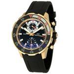IWC アクアタイマー クロノグラフ 18k ローズゴールド メンズ腕時計 3769-03