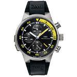 IWC アクアタイマー スプリットミニッツ クロノ チタニウム 黒 メンズ腕時計 IW372304