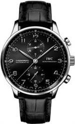 アイダブルシー 時計 IWC Portuguese Chrono Automatic Steel Mens Watch IW371438
