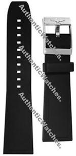 ブライトリング 時計 MODEL 132S  BREITLING 20/18MM DIVER PRO II BLACK RUBBER STRAP WITH BUCKLE