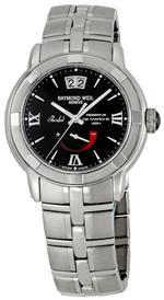 レイモンドウィル 時計 Raymond Weil Mens 2843-ST-00207 Parsifal Black Dial Watch<img class='new_mark_img2' src='https://img.shop-pro.jp/img/new/icons15.gif' style='border:none;display:inline;margin:0px;padding:0px;width:auto;' />
