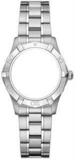 タグ ホイヤー 時計  MODEL BA0817  AUTHENTIC NEW TAG HEUER AQUARACER WOMENS STEEL BRACELET