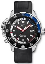 アイダブルシー 時計 IWC Aquatimer Deep Two Mens Watch IW354702