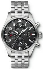 アイダブルシー 時計 IWC Pilots Chronograph Automatic Stainless Steel Mens Watch IW377704<img class='new_mark_img2' src='https://img.shop-pro.jp/img/new/icons4.gif' style='border:none;display:inline;margin:0px;padding:0px;width:auto;' />