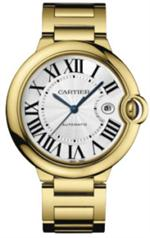 カルティエ 時計 AUTHENTIC NEW IN BOX CARTIER BALLON BLEU MENS GOLD WATCH MODEL W69005Z2
