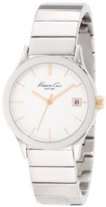 ケネスコール 時計 Kenneth Cole New York Mens KC4840 Classic Triple Silver Watch