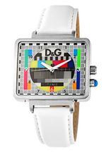 ドルチェ&ガッバーナDG Dolce  Gabbana Stainless Steel case Men's Luminous stop white Watch DW0513