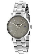 モメンタス 時計 Momentus Silver Tone Stainless with Steel Gray Dial Women's Watch DW252S-03SS