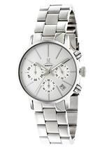 モメンタス 時計 Momentus Silver Tone Stainless Steel Stain white Dial Women's Watch DW253S-02SS