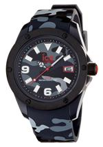 <img class='new_mark_img1' src='https://img.shop-pro.jp/img/new/icons6.gif' style='border:none;display:inline;margin:0px;padding:0px;width:auto;' />アイス 時計 Ice Watch Mens IABKXLR11 Army Collection Black Camouflage Watch