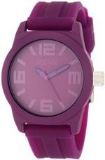 ケネスコール 時計 Kenneth Cole REACTION Womens RK2226 Round Analog Purple Dial Watch
