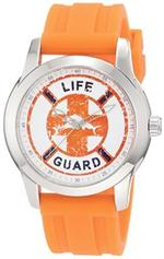 トミー バハマ 時計 Tommy Bahama Relax Men's RLX1149 Panelback Lifeguard Orange Silicone Wrist Watch<img class='new_mark_img2' src='https://img.shop-pro.jp/img/new/icons5.gif' style='border:none;display:inline;margin:0px;padding:0px;width:auto;' />