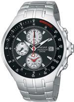 パルサー 時計 Pulsar by Seiko Chronograph Alarm Date Watch 100 meters 42m Dial Watch<img class='new_mark_img2' src='https://img.shop-pro.jp/img/new/icons21.gif' style='border:none;display:inline;margin:0px;padding:0px;width:auto;' />