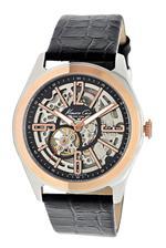 ケネスコール 時計 Kenneth Cole New York Mens KC1792 Automatic Automatic Rose Gold Bezel Strap Watch