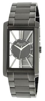 ケネスコール 時計 Kenneth Cole Mens KC9067 Transparent Gunmetal Stainless Steel Bracelet Watch<img class='new_mark_img2' src='https://img.shop-pro.jp/img/new/icons41.gif' style='border:none;display:inline;margin:0px;padding:0px;width:auto;' />