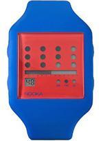 ヌーカ 時計 Nooka Zot Navy Blue  Red Watch ZUB ZOT NR 20<img class='new_mark_img2' src='https://img.shop-pro.jp/img/new/icons34.gif' style='border:none;display:inline;margin:0px;padding:0px;width:auto;' />
