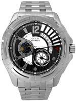 ゲス 時計 Guess Black Dial Stainless Steel Mens Watch U20003G1