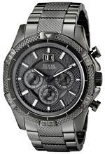 ゲス 時計 GUESS Mens U22504G1 Powerful Gunmetal Chronograph Watch