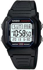カシオ 時計 Men's Casio Casual Classic Dual Time Alarm Watch W800H-1AV