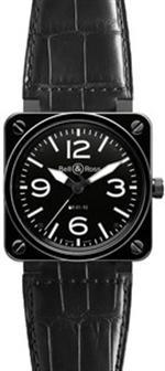 ベルアンドロス 時計 MODEL BR01-92-BLACK-CERAMIC-C  NEW BELL  ROSS BR 01-92 AUTOMATIC WATCH