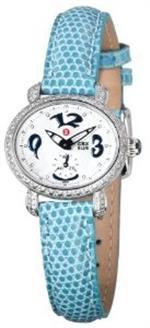 ミッシェル 時計 Michele Womens MWW03F000049 CSX Blue Mini Diamond Watch
