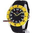スイスミリタリー 時計 SWISS MILITARY MEN WATCH 'CALIBRE' MARINE 100M BLACK POLY-U 06-4M1-04-007.2<img class='new_mark_img2' src='https://img.shop-pro.jp/img/new/icons6.gif' style='border:none;display:inline;margin:0px;padding:0px;width:auto;' />
