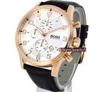 ヒューゴボス 時計 HUGO BOSS MEN CHRONOGRAPH ROSE GOLD LAYERED 44mm LEATHER STRAP 1512519<img class='new_mark_img2' src='https://img.shop-pro.jp/img/new/icons31.gif' style='border:none;display:inline;margin:0px;padding:0px;width:auto;' />