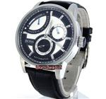ヒューゴボス 時計 HUGO BOSS MEN AUTOMATIC POWER RESERVE INDICATOR 44mm LEATHER STRAP 1512594