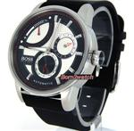 ヒューゴボス 時計 HUGO BOSS MEN AUTOMATIC POWER RESERVE INDICATOR 44mm POLY-U STRAP 1512596
