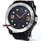 ヒューゴボス 時計 HUGO BOSS MEN 'BOSS ORANGE' BLACK PVC CASE 46mm BLACK POLY-U STRAP 1512664