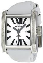 ティーダブルスティール 時計 TW Steel Mens CE3015 CEO Goliath White Leather Strap Watch<img class='new_mark_img2' src='https://img.shop-pro.jp/img/new/icons22.gif' style='border:none;display:inline;margin:0px;padding:0px;width:auto;' />