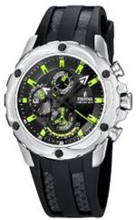 フェスティナ 時計 Festina Mens Crono F16526/3 Black Rubber Quartz Watch with Black Dial<img class='new_mark_img2' src='https://img.shop-pro.jp/img/new/icons20.gif' style='border:none;display:inline;margin:0px;padding:0px;width:auto;' />