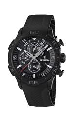 フェスティナ 時計 Festina Mens La Vuelta F16567/8 Black Rubber Quartz Watch with Black Dial<img class='new_mark_img2' src='https://img.shop-pro.jp/img/new/icons28.gif' style='border:none;display:inline;margin:0px;padding:0px;width:auto;' />