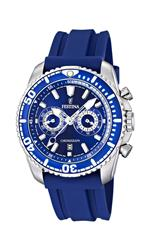 フェスティナ 時計 Festina Mens F16574/3 Blue Polyurethane Quartz Watch with Blue Dial<img class='new_mark_img2' src='https://img.shop-pro.jp/img/new/icons35.gif' style='border:none;display:inline;margin:0px;padding:0px;width:auto;' />