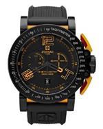 ゾディアック 時計 Zodiac Mens ZO8554 Analog Display Swiss Quartz Black Watch