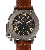 ユーボート 時計 U-Boat Mens 6472 U-42 Chrono 47 mm Black Dial Watch