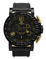 ゾディアック 時計 Zodiac Mens ZO8555 Analog Display Swiss Quartz Black Watch