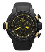 ゾディアック 時計 Zodiac Mens ZO8559 Analog Display Swiss Quartz Black Watch