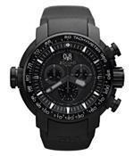 ゾディアック 時計 Zodiac Mens ZO8562 Analog Display Swiss Quartz Black Watch