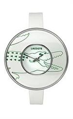 ラコステ 時計 Lacoste Club Collection Figari Leather Strap White Dial Womens watch #2000543<img class='new_mark_img2' src='https://img.shop-pro.jp/img/new/icons25.gif' style='border:none;display:inline;margin:0px;padding:0px;width:auto;' />
