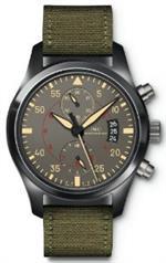 アイダブルシー 時計 IWC Pilots Anthracite Dial Chronograph Ceramic and Titanium Mens Watch IW3880-02