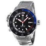 アイダブルシー 時計 IWC Aquatimer Black Dial Stainless Steel Mens Watch IW354703<img class='new_mark_img2' src='https://img.shop-pro.jp/img/new/icons12.gif' style='border:none;display:inline;margin:0px;padding:0px;width:auto;' />