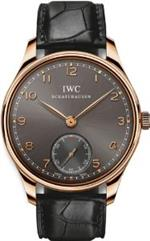 アイダブルシー 時計 IWC Portuguese Ardoise Dial 18kt Rose Gold Black Leather Mens Watch 5454-06<img class='new_mark_img2' src='https://img.shop-pro.jp/img/new/icons1.gif' style='border:none;display:inline;margin:0px;padding:0px;width:auto;' />