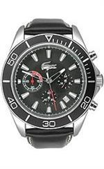 ラコステ 時計 Lacoste Sportswear Collection Sport Navigator Chrono Black Dial Mens watch #2010459<img class='new_mark_img2' src='https://img.shop-pro.jp/img/new/icons20.gif' style='border:none;display:inline;margin:0px;padding:0px;width:auto;' />