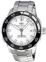 アイダブルシー 時計 IWC Mens IW356809 Aquatimer White Dial Watch
